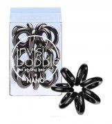 Invisibobble Резинка для волос NANO True Black, черный: фото, цены, описание товара, отзывы и наличие в Москве и Санкт-Петербурге