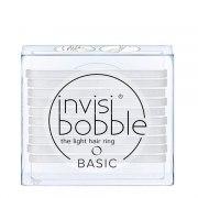 Invisibobble Резинки для волос BASIC Crystal Clear, прозрачные (Упаковка 10 шт.): фото, цены, описание товара, отзывы и наличие в Москве и Санкт-Петербурге