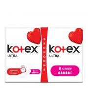 Kotex Ultra Супер Прокладки N16 (Упаковка 16 шт.): фото, цены, описание товара, отзывы и наличие в Москве и Санкт-Петербурге