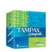 Tampax Тампоны Compak Super с аппликатором N8 (Упаковка 8 шт.): фото, цены, описание товара, отзывы и наличие в Москве и Санкт-Петербурге