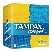 Tampax Тампоны Compak Regular с аппликатором N8: фото, цены, описание товара, отзывы и наличие в Москве и Санкт-Петербурге
