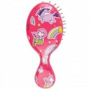 Wet Brush Щетка для спутанных волос mini, розовый единорог: фото, цены, описание товара, отзывы и наличие в Москве и Санкт-Петербурге