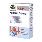 Доппельгерц V.I.P. Кардио Омега (30 капсул): фото, цены, описание товара, отзывы и наличие в Москве и Санкт-Петербурге