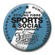 Джоннис Чоп Шоп Файбер для стайлинга волос (Банка 70 г): фото, цены, описание товара, отзывы и наличие в Москве и Санкт-Петербурге
