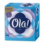 Ola Daily Прокладки ежедневные N60 (Упаковка 60 шт.): фото, цены, описание товара, отзывы и наличие в Москве и Санкт-Петербурге