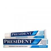 PresiDENT Зубная паста Sensitive (Туба 50 мл): фото, цены, описание товара, отзывы и наличие в Москве и Санкт-Петербурге