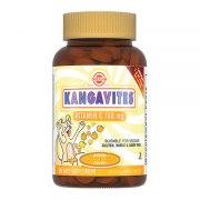 Солгар Кангавитес с витамином С 100 мг со вкусом апельсина (90 таблеток)