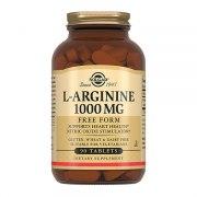 Солгар L-аргинин 1000 мг (90 таблеток): фото, цены, описание товара, отзывы и наличие в Москве и Санкт-Петербурге