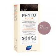 Фито Фитоколор Краска для волос 5 (2 штуки): фото, цены, описание товара, отзывы и наличие в Москве и Санкт-Петербурге